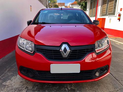 Renault Logan 2018 1.0 12v Authentique Sce 4p