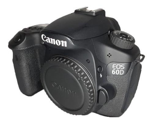 Camera Canon 60d  Corpo 36,640 Cliques Impecável Seminova