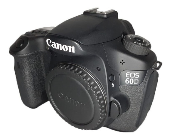 Canon 60d Impecável Usada C/ 8024 Clicks Somente Corpo