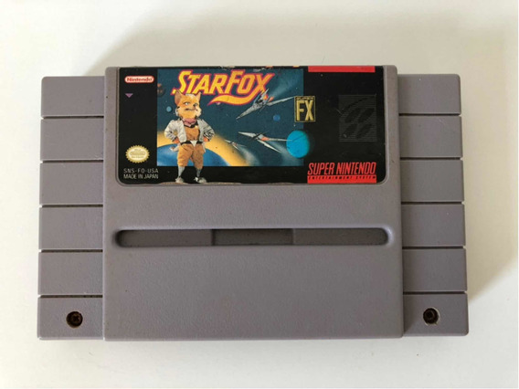 Jogo Star Fox 100% Original Para Super Nintendo Snes