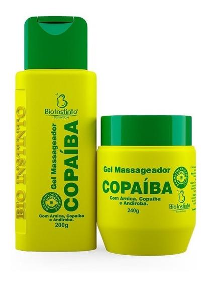 Kit 60 Unidades Gel Copaíba Bio Instinto
