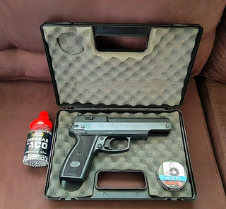 Pistola De Chumbinho Gamo Af-10 De 4,5mm 380fps Com Nf