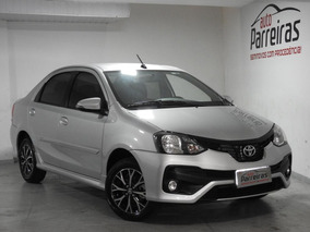 Toyota Etios 1.5 Platinum 16v Flex 4p Automático 2018/2019