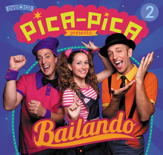 Pica Pica Bailando Cd + Dvd Nuevo