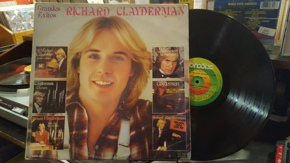 Richard Clayderman Grandes Exitos Lp Disco Vinilo Ex