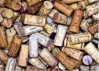 Corchos De Botellas De Vino