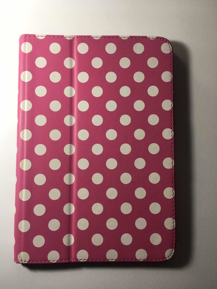 Capinha Rosa iPad Mini - Com Suporte