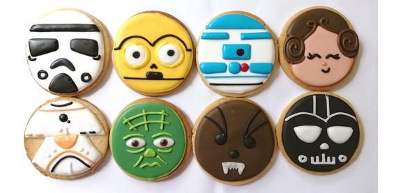 Galletas Decoradas Star Wars!
