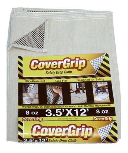 Covergrip 351208 Paño De Lona De Seguridad De 8 Onzas 3.5 X