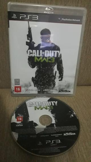 Game Ps3 Call Of Duty: Modern Warfare 3 - Mídia Física Orig.
