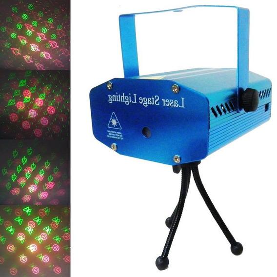 Projetor Holografico Efeitos Laser Luzes Natal Strobo Festas