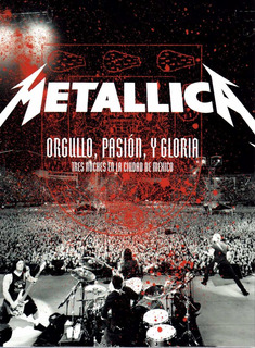 Metallica Orgullo Pasion Y Gloria Dvd Nuevo Cerrado