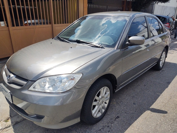 Honda Civic 1.7 Lxl Automático 2006 Financio Sem Entrada