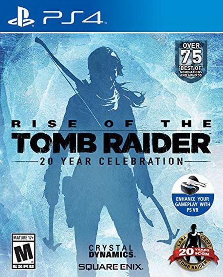 Rise Of The Tomb Raider 20 Year Ps4 Nuevo Y Sellado Juego