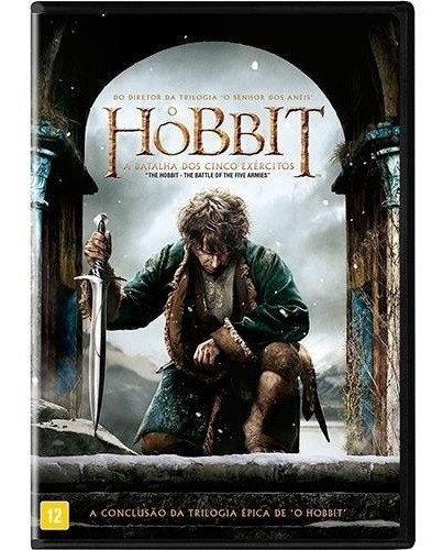 O Hobbit - A Batalha Dos Cinco Exércitos [ Dvd ] - Lacrado