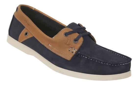Zapato Top Sider Triples Mod. Remy Azul