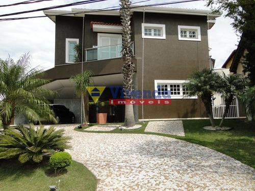 Imagem 1 de 15 de Casa De Alto Padrão Em Aldeia Da Serra - 4 Suítes - 500m2 - As10474