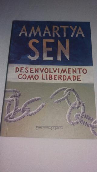 Livro Desenvolvimento Como Liberdade - Amartya Sen