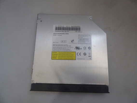 Gravador E Leitor Cd Dvd P Notebook Sata Ds-8a4s22c Ds-8a4s