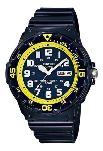 Reloj Hombre Casio Mrw-200hc-2b Análogo Retro / Lhua Store