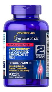 Glucosamina Condroitina Msm Triple Strength 90caps Puritans