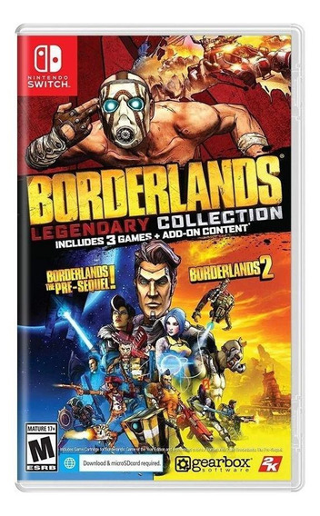Borderlands Legendary Collection Switch Mídia Física Lacrado