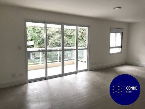Imagem 1 de 10 de Apartamento A Venda No Real Parque Com 120 Metros E 3 Quartos - 62030719