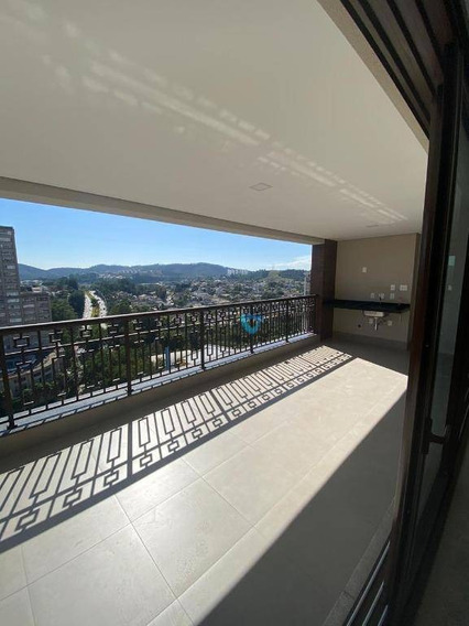 Apartamento Com 3 Dormitórios À Venda, 228 M² Por R$ 2.065.000 - Alphaville Empresarial - Barueri/sp - Ap2335