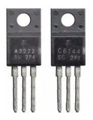 30 (trinta) Pares Transistores A2222 + C6144