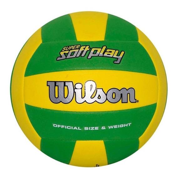 Balón Volleyball Super Soft Play Amarillo Wilson // Bamo