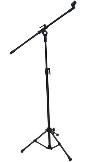 Suporte Pedestal Vector P/ Microfone C/ Haste Pmv-01-p Preto