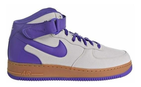 Botitas Nike Air Force 1 Mid 07 Txt Violeta