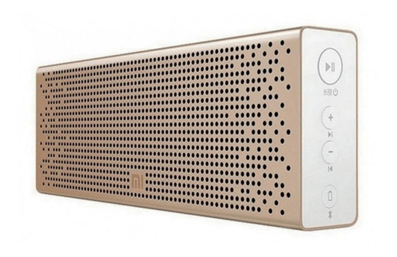 Parlante Xiaomi Mi Bluetooth Speaker portátil inalámbrico Golden