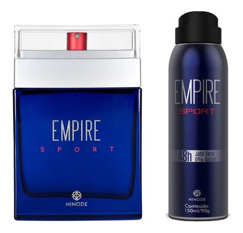 Kit Perfume Desodorante Empire Sport - Hinode - 100ml Origin