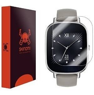 Skinomiâ® Techskin [6-pack] - Asus Zenwatch 2 Pantalla 45mm
