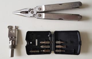 Canivete Super Tool Leatherman 14 Funções