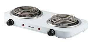 Parrilla / Estufa Fornax Duo Electrica 2 Quemadores Control