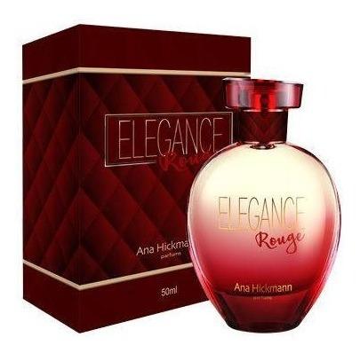 Perfume Fem Elegance Rouge Ana Hickmann Deo Colônia 80ml