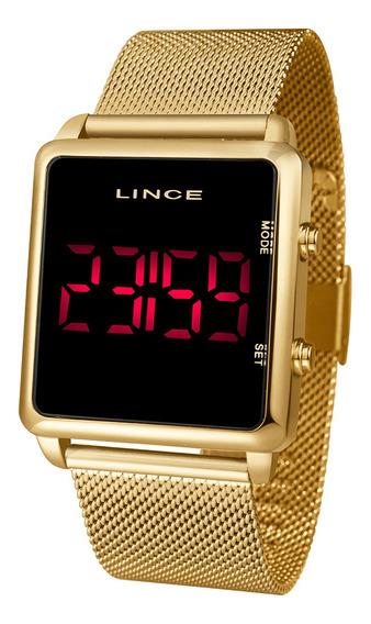 Relógio Lince Urban Feminino Dourado Mdg4596l Pxkx