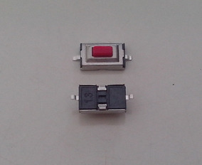 Chave Tactil 3x6x2,5mm Smd (100 Peças)