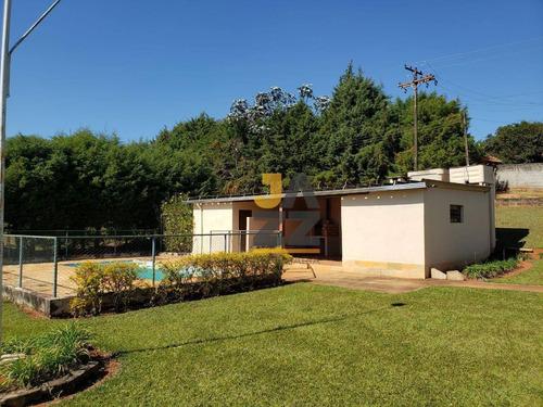 Excelente Chácara Com 3 Dormitórios À Venda, 7500 M² Por R$ 600.000 - Campinho - Bragança Paulista/sp - Ch0666
