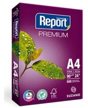 Papel Sulfite A4 90g 210x297 500fls Report Premium