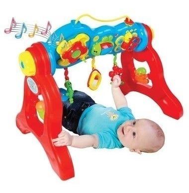 Brinquedo Bebê Play Gym Com Som 3040 - Maral