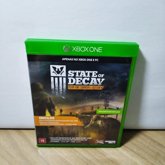 State Of Decay Xbox One Usado