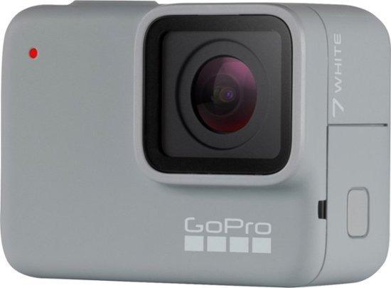 Gopro - Hero7 White Hd Waterproof Action Camera - White