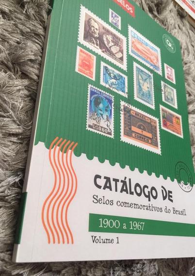 Álbum / Catálogo De Selos Comemorativos Brasil 1900 A 1967