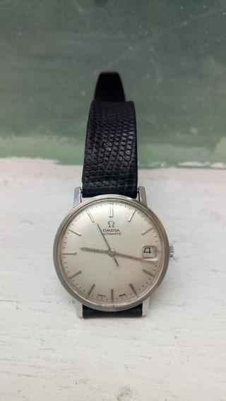Reloj Omega Automático Vintage Con Fechador Numérico De Día