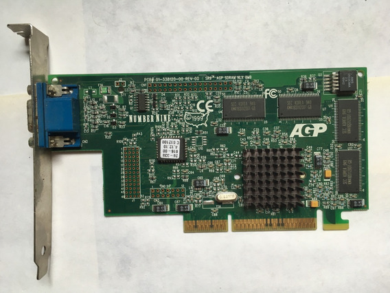 Number Nine Placa De Video Agp 8mb S3 Savage 4