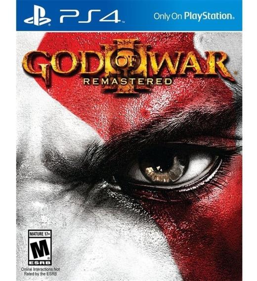 God Of War 3 Ps4 Mídia Física 100% Pt | Envelope | Campinas