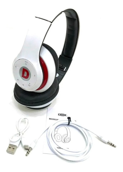 Fone De Ouvido Headphone Bluetooth Radio Fm Micro Sd